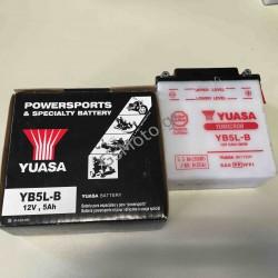 Μπαταρία Μοτοσυκλέτας YUASA - YB5L-B 12V 5Ah
