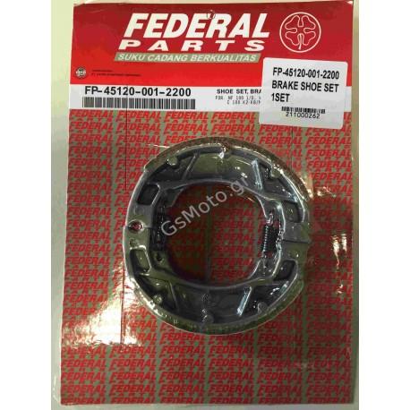 Σετ Σιαγώνες Φρένων FEDERAL για Honda C50/ASTREA - Κωδ.: FP-45120-001-2200