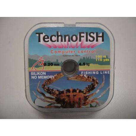 Μισινέζα Ψαρέματος TechnoFISH - 1.00m / Από 0,20-0,50 mm / 4.5kg