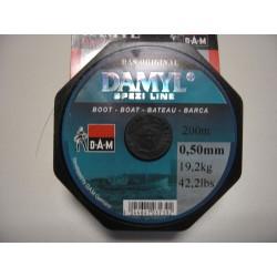 Μισινέζα Ψαρέματος DAMYL 0.50mm/200m 19.2kg