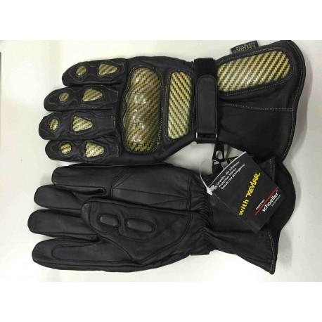 Αδιάβροχα Γάντια με Προστατευτικά KEVLAR από Δέρμα