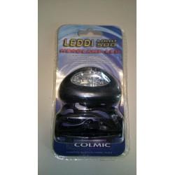Φακός κεφαλής COLMIC - 5 LED