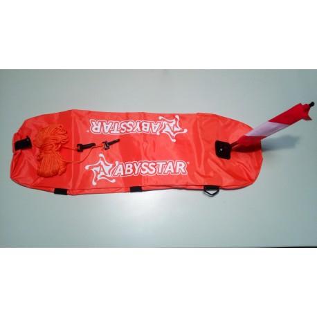 Σημαδούρα δήτη ενισχυμένη κομπλέ ABYSSTAR (ψαροντούφεκο)