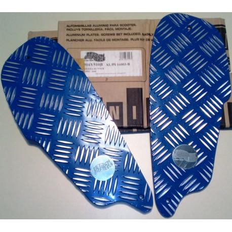 Πατώματα για Gilera Runner Χρώμα: Μπλέ