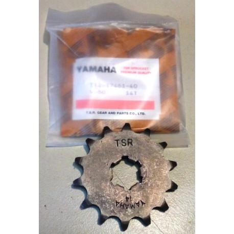 Γρανάζι Ρόδας Μοτοσυκλέτας Yamaha V50 (13T) Χρώμα: Ασημί (112-17461-40)