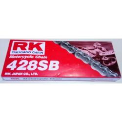 Αλυσίδα Μοτοσυκλέτας 428SB 126L RK