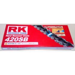 Αλυσίδα Μοτοσυκλέτας 420SB 126L RK
