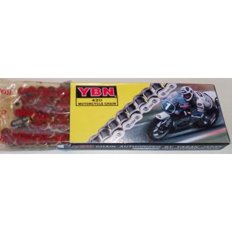 Αλυσίδα Μοτοσυκλέτας 420 100L TAIWAN Χρώμα: Κόκκινο/Μπλέ