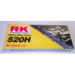 Αλυσίδα Μοτοσυκλέτας 520H 114L RK Malaysia Ενισχυμένη